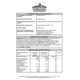 Energy OatSnack Schoko Apelsin 65g